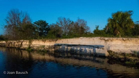 Shadow Boat Trip Along Irma's Erosion